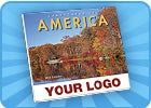 Landscapes of America Stapled Calendar, English