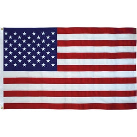 Tough Tex US Flags with Heading and Grommets (48