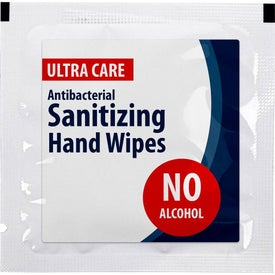 Antibacterial Sanitizer Wet Wipe Single Packs