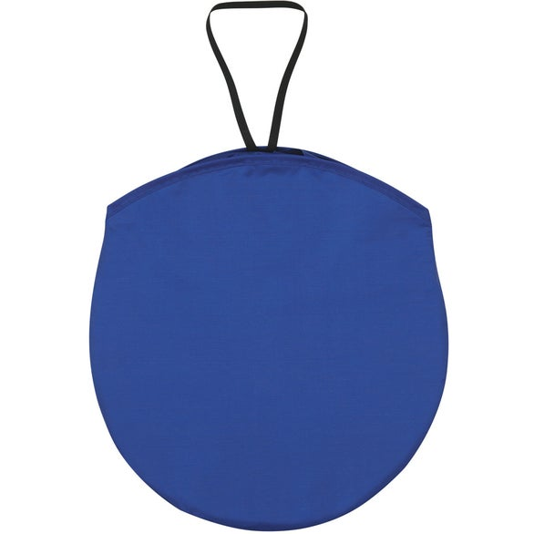 Royal Blue Collapsible Automobile Sun Shade