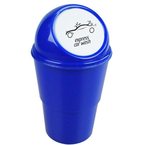 Blue Trash Away Auto Cup