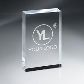 Crystal Tablet Award (Medium)