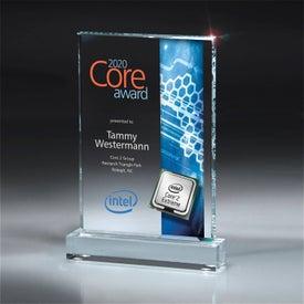 Digi-Color Lucite Award (Large)