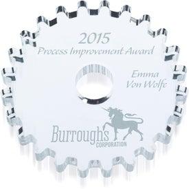 Geared-Up Paperweight Award