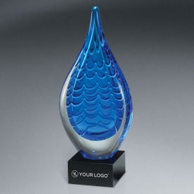 Indigo Stream Art Glass Award