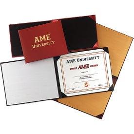 "Leathergrain Padded Diploma Cover (5"" x 7"")"