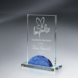 Optic Crystal Gemstone Award (Small)