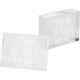 Rectangle Paperweight Award