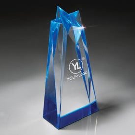 Star Power Sculptured Lucite Award (Medium)