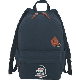 Alternative Basic Cotton Computer Backpack