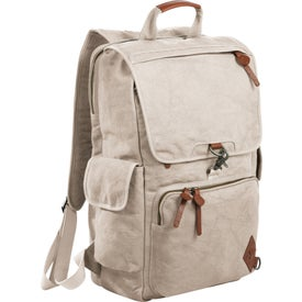Alternative Deluxe Cotton Computer Rucksack