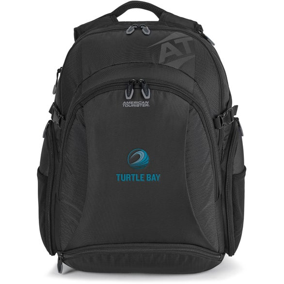 Black American Tourister Voyager Deluxe Computer Backpack