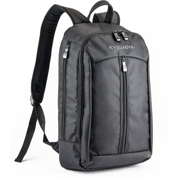 Black Apex Tech Backpack