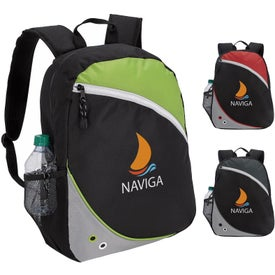 Smooth Zippered Backpack