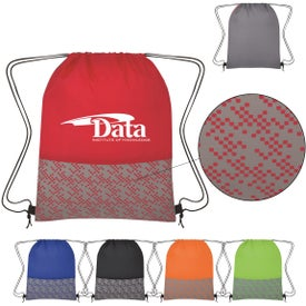 Bitmap Drawstring Backpacks
