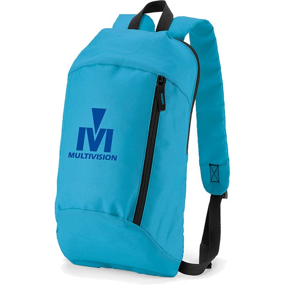 Caribbean Blue Budget 600D Backpack