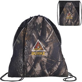 Camouflage Drawstring Backpack