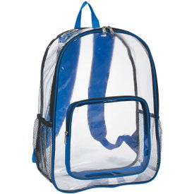 Clear Backpack for Your Organization