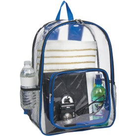Advertising Clear Backpack