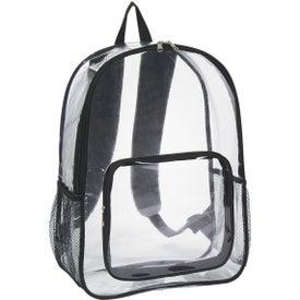 Logo Clear Backpack
