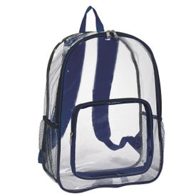 Clear Backpack for Advertising