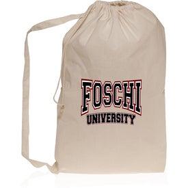 Collegiate Natural Cotton Laundry Bag