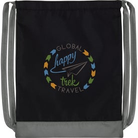 Color Flip Drawstring Backpack