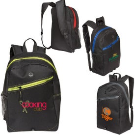 Color Zippin'' Laptop Backpacks