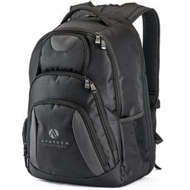 Monogrammed Concourse Laptop Backpack