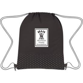 Connect The Dots Non-Woven Drawstring Bag