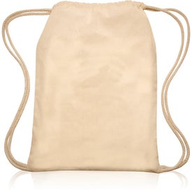 Cotton Rope Drawstring Backpack