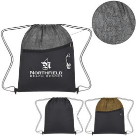 Cubic Drawstring Bag