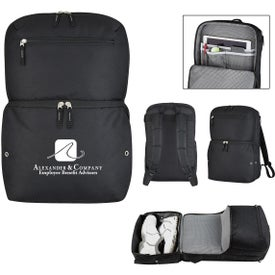 Deluxe Traveler Sneaker Backpack