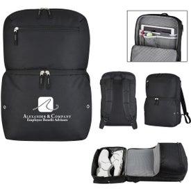 Deluxe Traveler Sneaker Backpack
