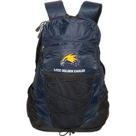Diamond Pattern Backpack