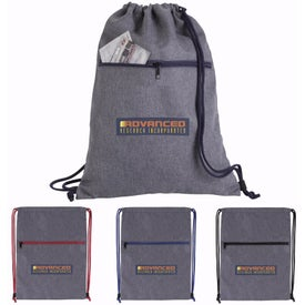 Dovetail Two-Tone Drawstring Backpack