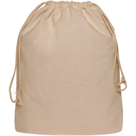 Drawstring Cotton Backpack