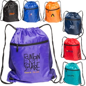Drawstring Mesh Backpack