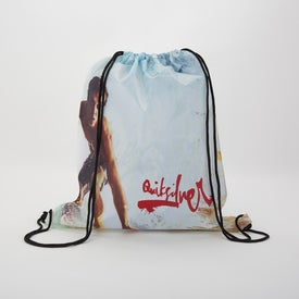 Dye-Sublimated Drawstring Backpack