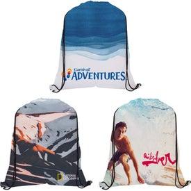 Dye-Sublimated Drawstring Backpack