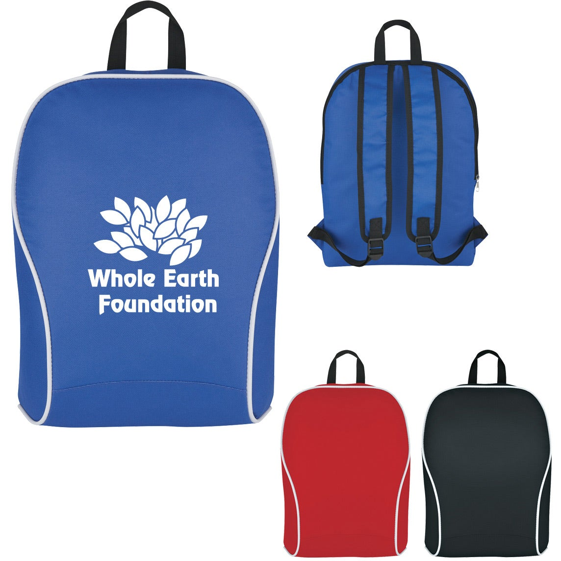 Promotional Economy Backpacks with Custom Logo for  6.30 Ea. fd67c0ccc7ed1