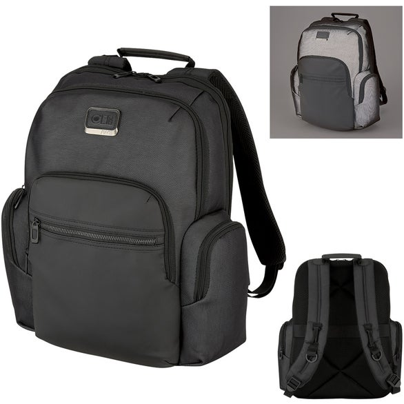Gray Harrison Reflective Backpack