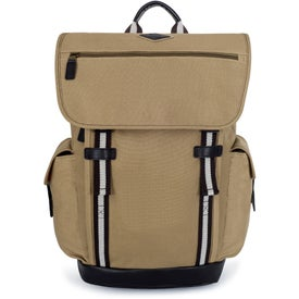 Heritage Supply Ridge Cotton Computer Backpacks