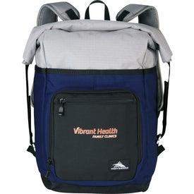 High Sierra Tethur Rolltop Compu-Backpack