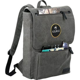 Kenneth Cole Canvas Compu Backpack