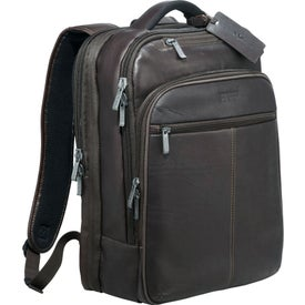Kenneth Cole Colombian Leather TSA Compu-Backpacks