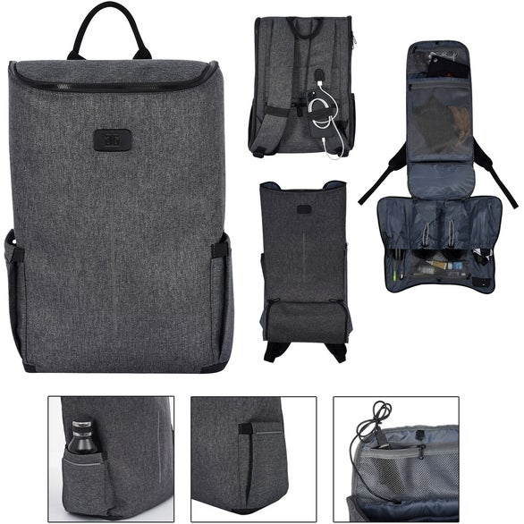 Gray Marco Polo Ultimate Travel Backpack