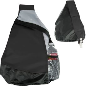 Mustang Sling Backpack Printed with Your Logo