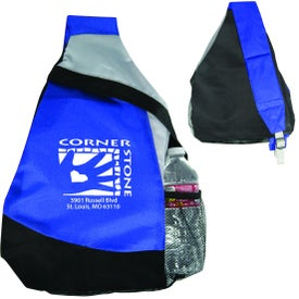 Mustang Sling Backpack Branded with Your Logo
