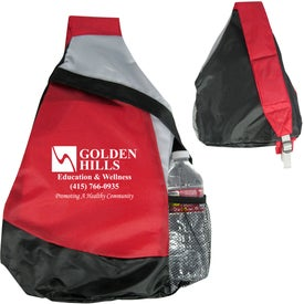 Mustang Sling Backpack Imprinted with Your Logo